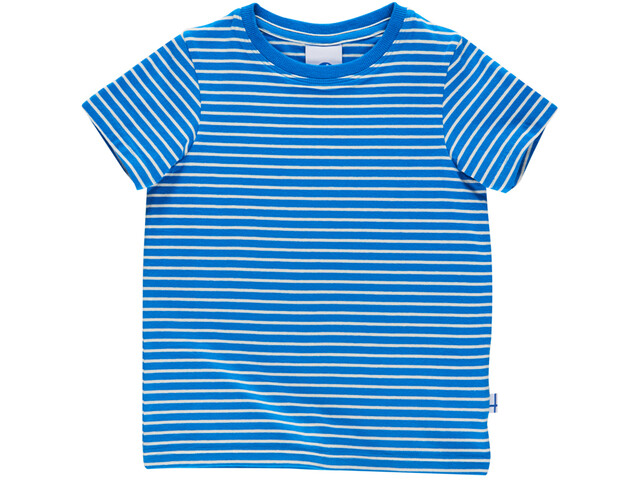 Finkid Supi T-shirt Kinderen, blue/offwhite